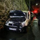Eyüp'te 5 otomobil kundaklandı