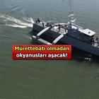 Bu da insansız savaş gemisi