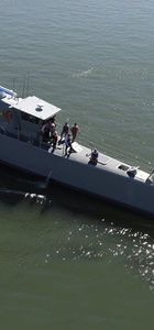 İnsansız savaş gemisi ilk defa test edildi!