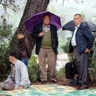 Antalya'da yağmur duasına çıkan üreticiler yağmura yakalandı
