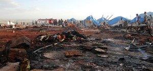 Esad güçleri İdlib'te çadır kenti vurdu