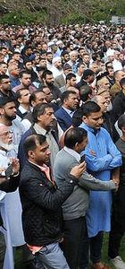 Cenaze törenine binlerce kişi katıldı
