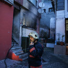 Fatih'te yabancı uyrukluların kaldığı evde yangın