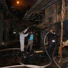 Adıyaman'da 7 kereste atölyesi yandı