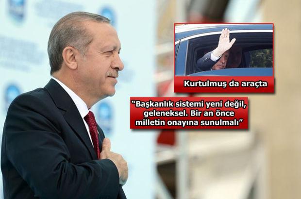 Davutoğlu'na teşekkür etti: Ben de bayrağı Sayın Gül'den almıştım