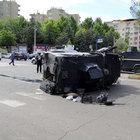 Diyarbakır'da kaza: 3'ü polis 4 yaralı