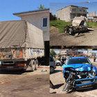 Samsun'nda kamyonet yoldan çıktı: 5 yaralı