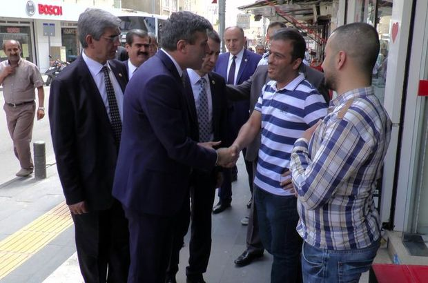 CHP heyeti Kilis'te
