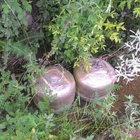 Tunceli'de 100 kiloluk patlayıcı imha edildi