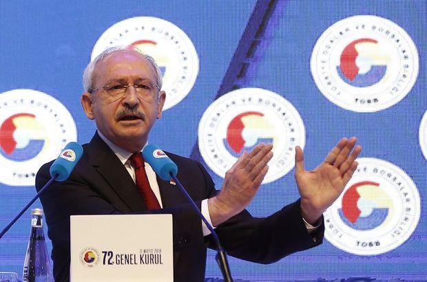 CHP Kemal Kılıçdaroğlu TOBB