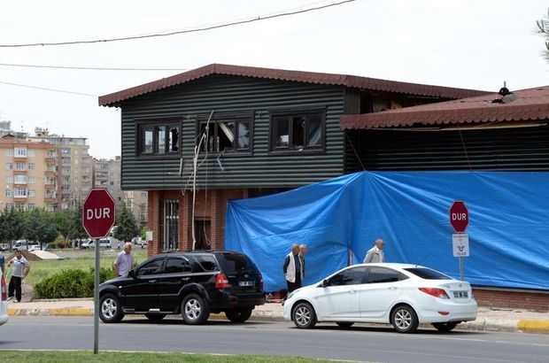 Diyarbakır'daki polise saldırıda 200 kilo patlayıcı kullanılmış