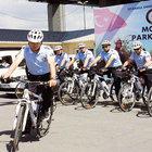 İstanbul'da Mobil Park Polisi iş başında