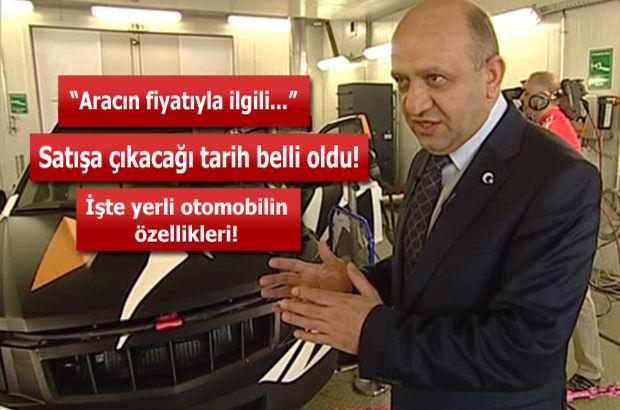 Bakan Işık, yerli otomobilin özelliklerini açıkladı