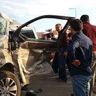 Elazığ'da TIR minübüsü biçti: 1 yaralı