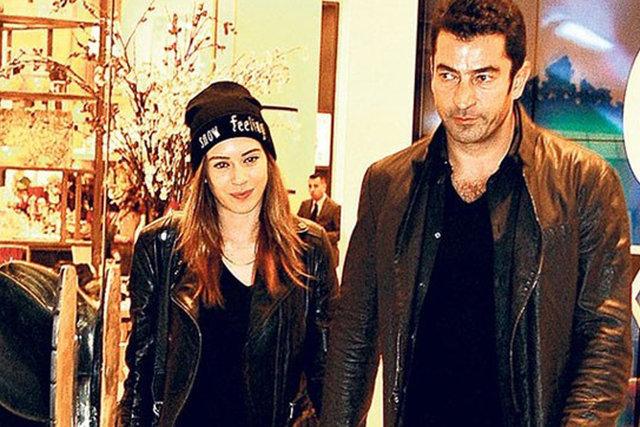 Kenan İmirzalıoğlu ile Sinem Kobal'ın düğününden ilk kare
