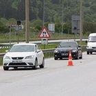 Ankara yönü ulaşıma kapatılan TEM'de yoğunluk