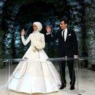 Sümeyye Erdoğan ve Selçuk Bayraktar'ın nikahından ilk kareler