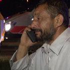 Ankara'da kaza yapan TIR şoförü böyle ağladı