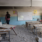 '91 okul zarar gördü 121 bin öğrenci göç etti'
