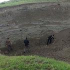 Kars'ta Ermenistan sınırındaki dağ yamacında deniz kabuğu ve kumu bulundu