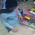 Esenler'deki cep telefonu hırsızlığı kameralarda