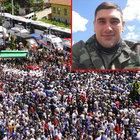 Dağlıca şehidi Tunahan Kartal'ı son yolculuğuna 5 bin kişi uğurladı