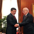 Başbakan Davutoğlu'ndan İsmail Kahraman'a veda ziyaret etti