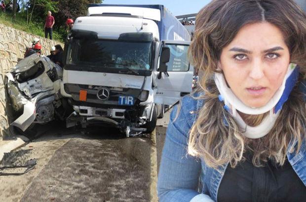 Son dakika: İstanbul Sancaktepe'de kontrolden çıkan TIR araçlara çarptı
