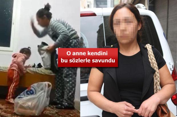 Mersin'de kızını döven Özbek anne ilk kez konuştu