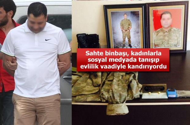 Adana'da kadınları dolandıran sahte binbaşı yakalandı