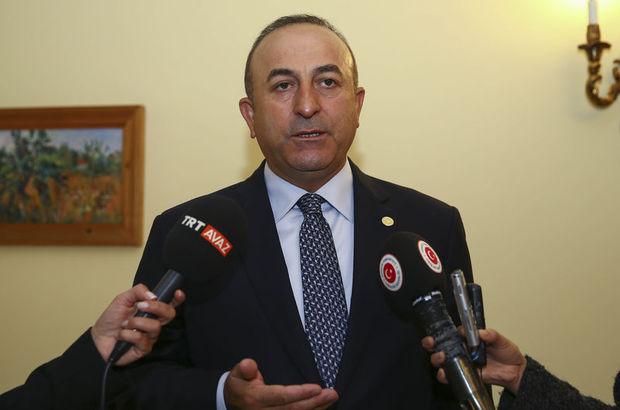 Dışişleri Bakanı Mevlüt Çavuşoğlu: Ne yaparsanız yapın bu insanları durduramazsını