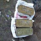 Silvan'da evin bahçesine gömülmüş 2 bin 100 fişek ele geçirildi