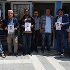 Sultangazi'de taksicilerden siyah kurdeleli cinayet protestosu