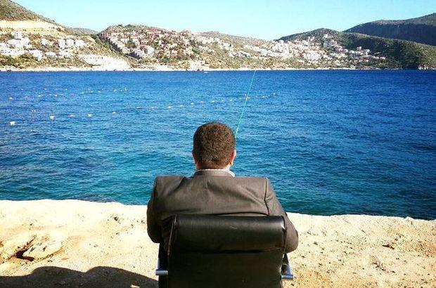 MHP Antalya Kaş İlçe Başkanı İsmail Şah Yılmaz'dan koltuklu mesaj