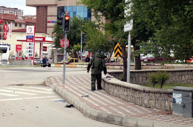 Yozgat'ta şüpheli çanta paniği