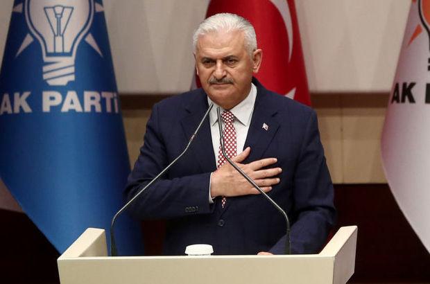 Son Dakika: AK Parti'nin Başbakan adayı Binali Yıldırım oldu, işte ilk konuşması