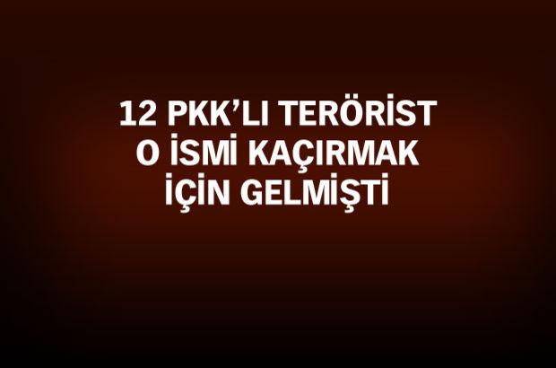Şırnak'ta teröristlerin kaçma girişimi son anda önlendi