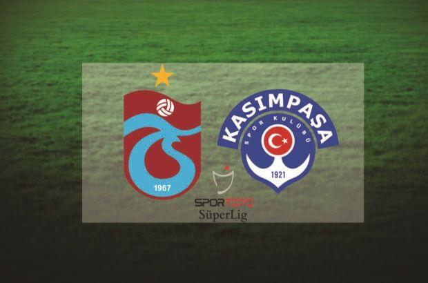 Trabzonspor Kasımpaşa maçı ne zaman, saat kaçta, hangi kanalda? Muhtemel 11'ler!