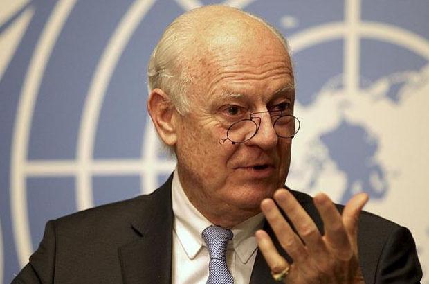 Birleşmiş Milletler Suriye Özel Temsilcisi açıklamalarda bulundu