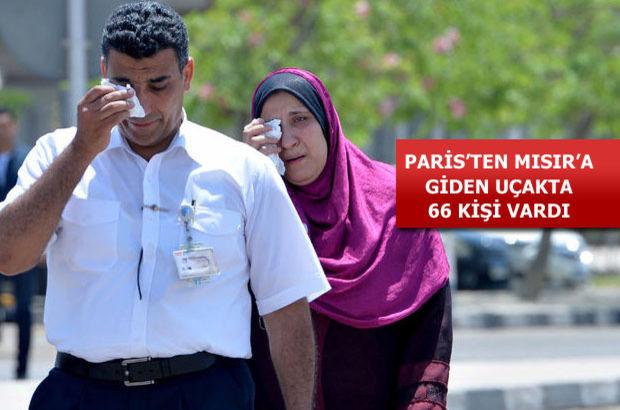 Mısır Havayolları (EgyptAir)'e ait 804 sefer sayılı Paris - Kahire uçağı düştü