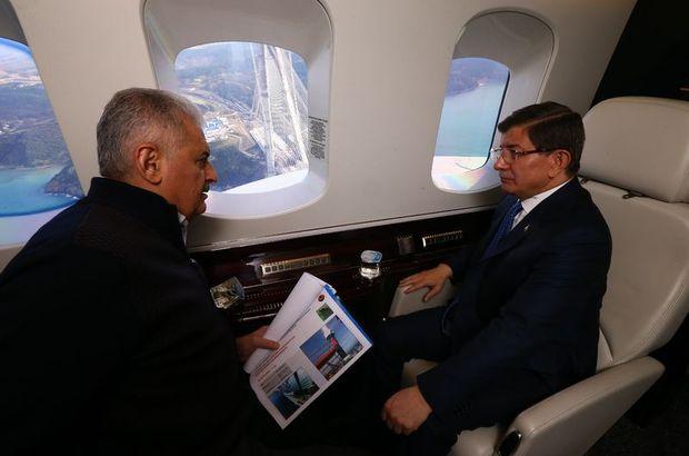 Başbakan Davutoğlu'ndan Binali Yıldırım'a  tebrik telefonu