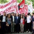 CHP'den Anıtkabir'e yürüyüş