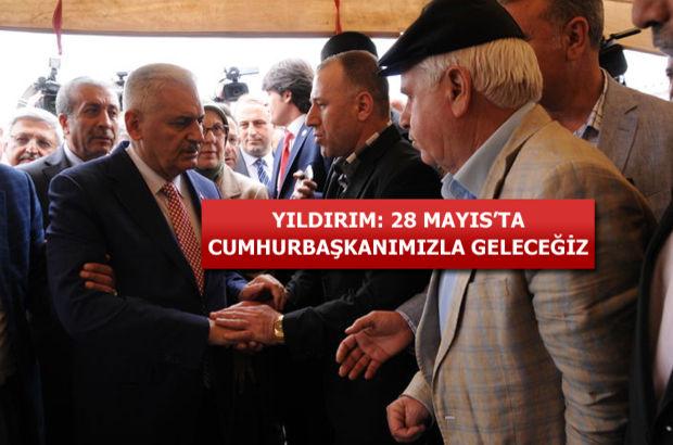 Binali Yıldırım 16 köylünün öldüğü Diyarbakır Dürümlü'de!