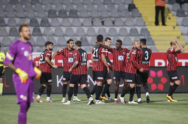 Gençlerbirliği: 3 - Eskişehirspor: 1   Eskişehirspor küme düştü