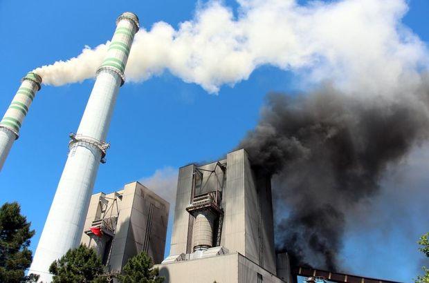 Zonguldak Çatalağzı Termik Santrali'nde yangın paniği