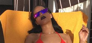 Rihanna'dan Lebron James pozu