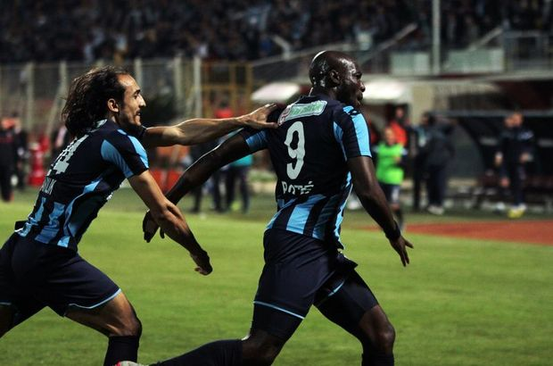 Adana Demirsporlu Mickael Pote play-off'ta da golcü