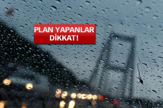 Haftasonu yağış geliyor!