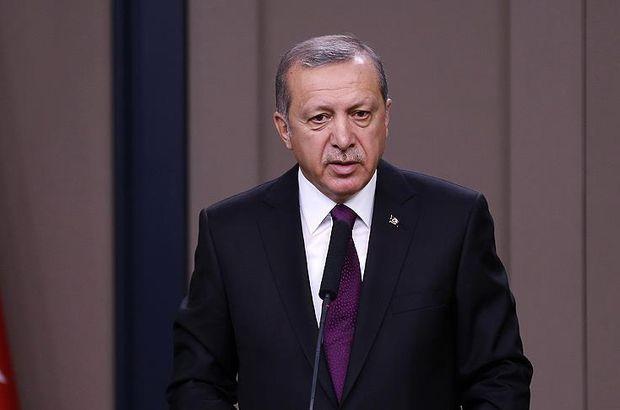 Cumhurbaşkanı Erdoğan'dan şehit ailelerine başsağlı telgrafı