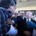 Kemal Kılıçdaroğlu'na şehit cenazesinde yumurta attılar